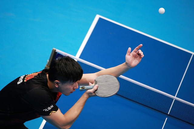 Legal Table Tennis Serve